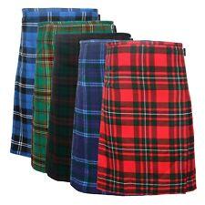 5 Yard Men's Scottish Kilts 13oz Highland Casual Tartan Kilt 5 Various Tartan