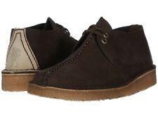 Men's Shoes Clarks Originals DESERT TREK Suede Lace Up Boots 38087 DARK BROWN