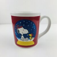 Peanuts Snoopy And Woodstock Winter United Feature Syndicate Oversized Mug