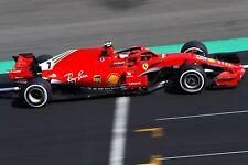 Ferrari F1 Formula One Automotive Car Wall Art Giclee Canvas Print Photo (213)