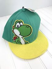 NINTENDO YOSHI HAT CAP SUPER MARIO BROS. WORLD GREEN New