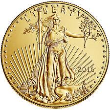 2016 - $5 1/10oz Gold American Eagle