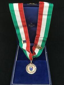 Medaglia d'oro campionati nuoto gold medal Italian swimming championships