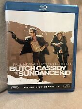 Butch Cassidy and the Sundance Kid (Blu-ray Disc, 2008) Newman & Redford!