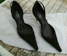 Escarpins (shoes) tbe en daim marron Studio pour Andre p39
