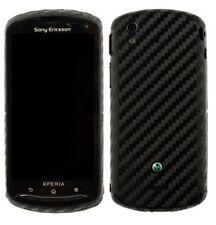 Skinomi Carbon Fiber Full Body + Screen Protector for Sony Xperia Pro
