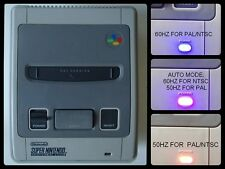 SUPER NINTENDO 1 CHIP 50/60 HZ PAL/NTSC - RGB BYPASS + C-SYNC SWITCHLESS uIGR