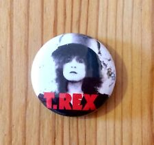 T. REX / MARC BOLAN (BAND) - BUTTON PIN BADGE (25mm)