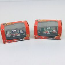 Set (2) Dale Earnhardt Jr #88 Diecast Cars 1:87 2008 National Guard Amp Cases