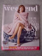 Weekend Magazine - Linda Gray, Frankie Bridge, Clive Owen, John Torode, Ruby Wax