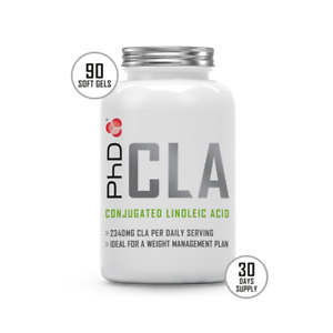 PhD CLA, Weight loss support capsules 90 x 1000mg