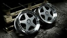 "ALLOY WHEELS X 4 18"" DR-F5 WR FOR BMW 1 3 SERIES E46 E90 E91 E92 E93 Z3 Z4 M12"