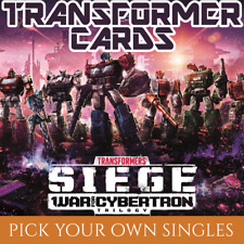 WAVE 3 Character Cards: War for Cybertron Siege I (Transformers TCG Singles)