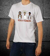 Disco Pioneers David Mancuso Nicky Siano and Larry Levan Black Men T-Shirt