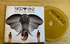 Nico Vinz - In Your Arms - Promotional Single CD Card Sleeve (2014)