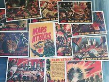 More details for mars attacks complete set cards reprints usa.
