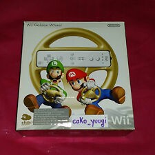VOLANT OR MARIO KART WII WII GOLDEN WHEEL MARIO KART CLUB NINTENDO EUROPE