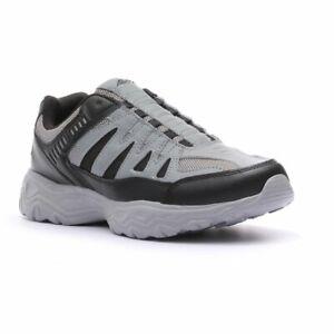 Avia Men's Gray Wide Width Slip-On Athletic Walking Shoes SZ 9.5-10-10.5-11 NWT