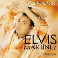 ELVIS MARTINEZ - EL CAMARON -  ASI TE AMO - CD ALBUM 20 TITRES 2004