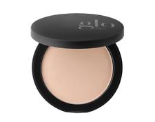 Glo belleza minerales Fundación Pressed Powder Skin 0.31 Oz/9 G-Beige medio