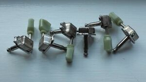 Kluson Deluxe Vintage tuners 3 a side set - aged knobs one knob missing