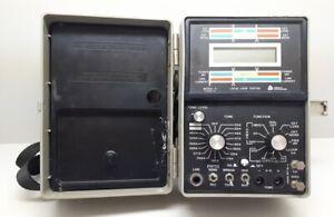 Triplett Model 5 Loop Tester (Type 2) W/Manual