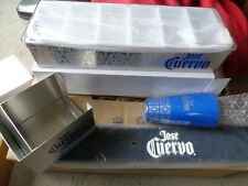 JOSE CUERVO BAR SET BAR MAT SHAKER CONDIMENT TRAY NAPKIN / STRAW HOLDER New!