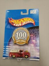 HOT WHEELS DUCKWALL ALCO STORES 100 YEARS 1956 FORD F-100 REAL RIDERS GOLD WHEEL