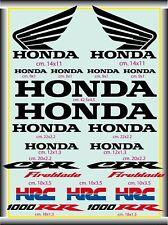 KIT ADESIVI MOTO HONDA 1000 RR-CBR Fireblade HRC