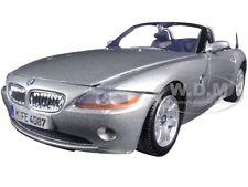 BMW Z4 SILVER 1:24 DIECAST MODEL CAR BY MOTORMAX 73269