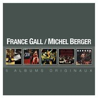 MICHEL & GALL,FRANCE BERGER - COFFRET 5CD  5 CD NEW