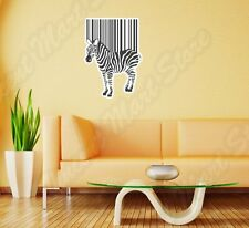 "Bar Code Bar-code Barcode Zebra Wall Sticker Room Interior Decor 20""X25"""