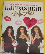 Kardashian Konfidential New 2011 Updated Edition Family Scrapbook & Stories Pics