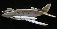 PIPER NAVAJO LAPEL HAT PIN UP MADE IN US PEWTER AIRPLANE PILOT CREW WING WOW