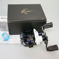 MEGABASS ZONDA 68 Left White LIMITED EDITION BAITCAST Reel Free Fedex to Usa