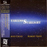 DAVID CROSS = ROBERT FRIPP-STARLESS STARLIGHT-JAPAN MINI LP SHM-CD Ltd/Ed F83