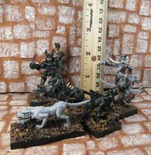 6 OOP Female WoD Werewolf the Apocalypse Zhyzhak, Pack, 3 Black Spiral Dancers