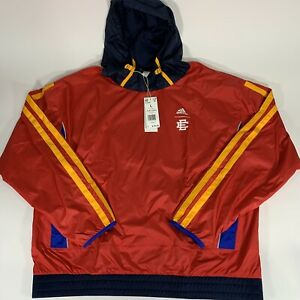 NWT Adidas x Eric Emanuel McDonald's Hoodie Red Men's Size Large H16556