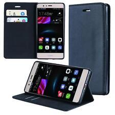 Funda-s Carcasa-s para Huawei Honor 6A Libro Wallet Case-s bolsa Cover Negro