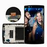Für LG Optimus G4 H810 H815 LCD Display Glas Touchscreen mit Rahmen schwarz RHN