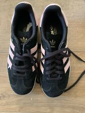 Adidas Originals Womens Black Salmon Pink Uk 3.5 EU 36 New Trainers
