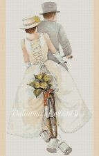 Wedding - Bicycle for Two Counted Cross Stitch COMPLETE KIT No.1-403