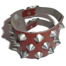 PUNK Spike Stud Buckle Bracelet NEW Adjustable Punk
