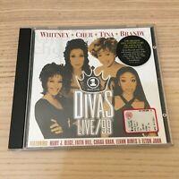 Divas _ Live/99 _ CD Album _ 1999 Arista _ Houston Turner Cher Brandy