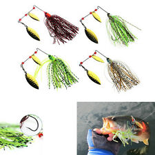 Sequins Rotating Lure Baits Fishing Spinner Hook Bait Tackle Spinnerbaits New