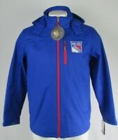 New York Rangers Men's GIII Blue Full Zip Soft Shell Jacket NHL M-2XL