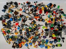 Lego Mini Figure Lot & Accessories & small odds & ends & weapons & jewels etc