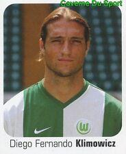 489 DIEGO KLIMOWICZ ARGENTINA VFL WOLFSBURG STICKER FUSSBALL 2007 PANINI