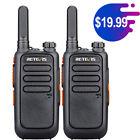 Retevis RT69 UHF 2 Way Radio Long Range 16CH Rechargeable 2W WalkieTalkies(2Pcs) photo