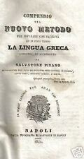 LINGUISTICA_GRECIA_LINGUA GRECA_GRAMMATICA_ANTICA EDIZIONE NAPOLETANA_PISANO